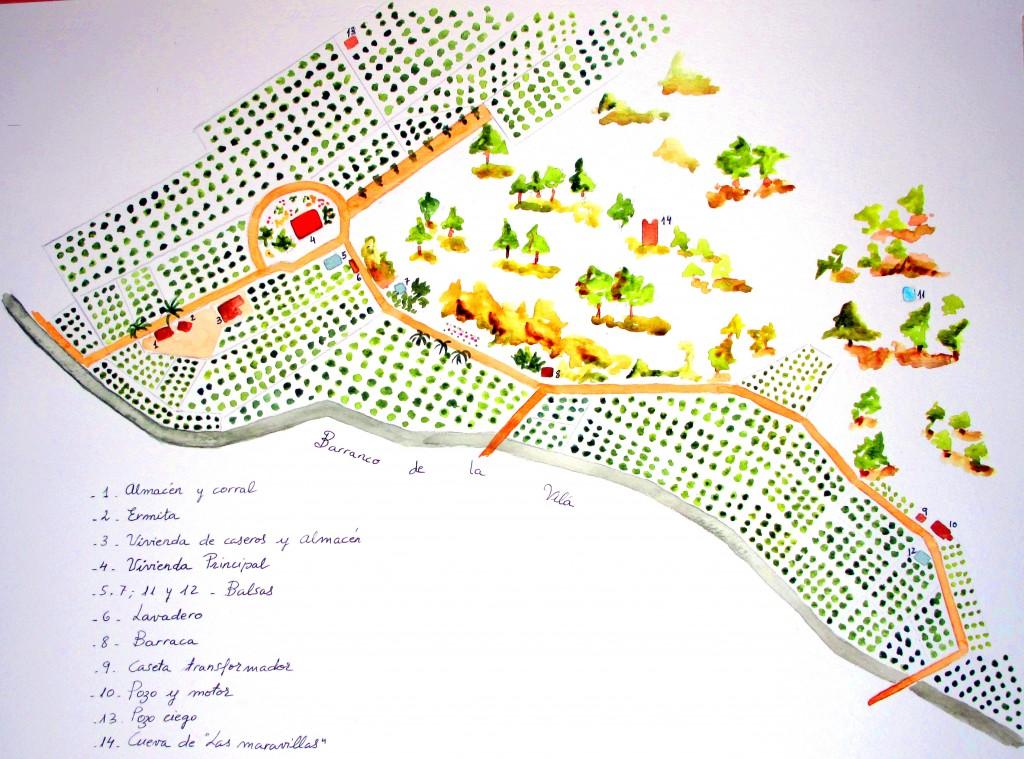 Plano 2015 1 Huerto de San Eusebio