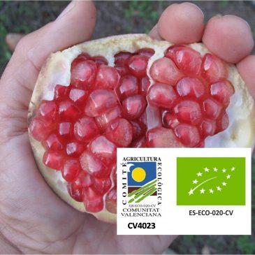 Organic Pomegranates 10Kg