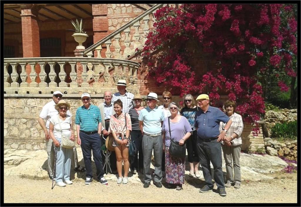 Visita San Eusebio Ingleses