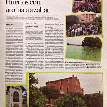 Huerto San Eusebio en el periódico Levante