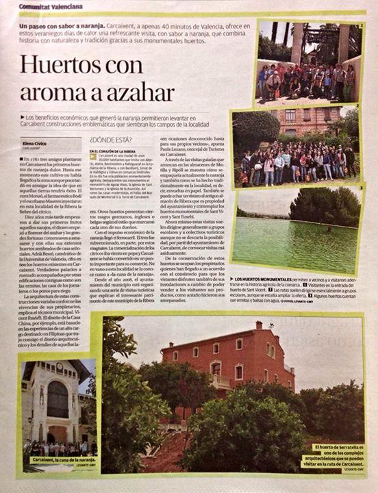 Huerto San Eusebio Levante agosto 2015