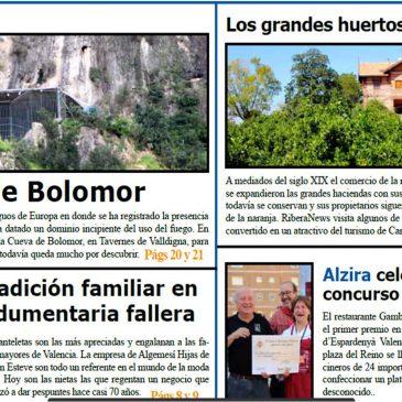 L'Hort de San Eusebio al diari Ribera News