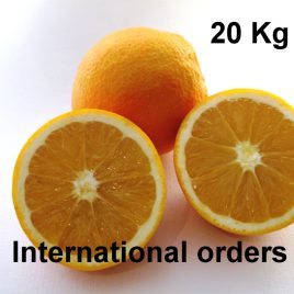 Oranges Bio 20 Kg France