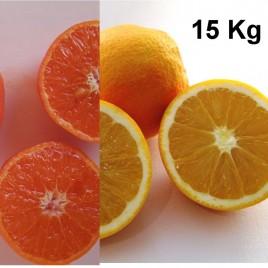 Caja mixta de 15Kg de Naranjas y Mandarinas