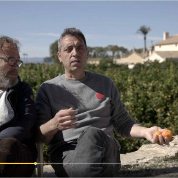 """Visita de Miquel Gil i Pep Gimeno """"El Botifarra"""""""