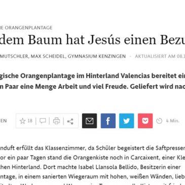 Entrevista en el Frankfurter Allgemeine