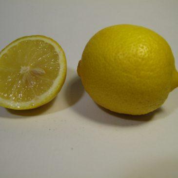 1 Kg Organic lemons